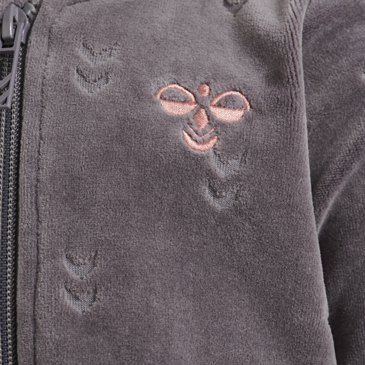hmlADA ZIP JACKET, RABBIT, packshot