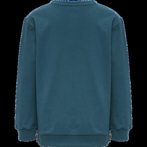 HMLDOS SWEATSHIRT, BLUE CORAL, packshot