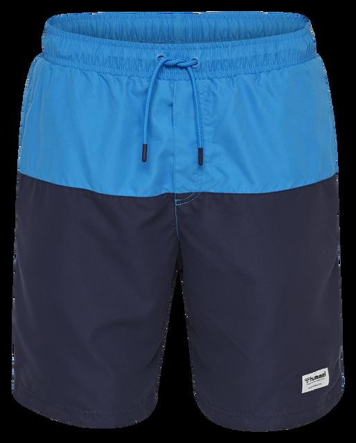 hmlZANE BOARD SHORTS, BRILLIANT BLUE, packshot
