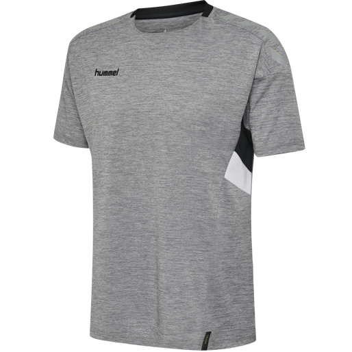 TECH MOVE KIDS JERSEY S/S, GREY MELANGE, packshot