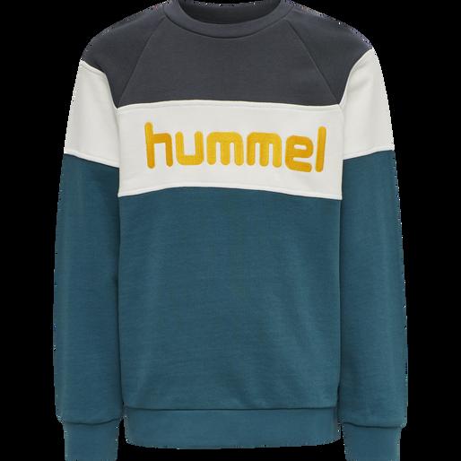 hmlCLAES SWEATSHIRT, BLUE CORAL, packshot