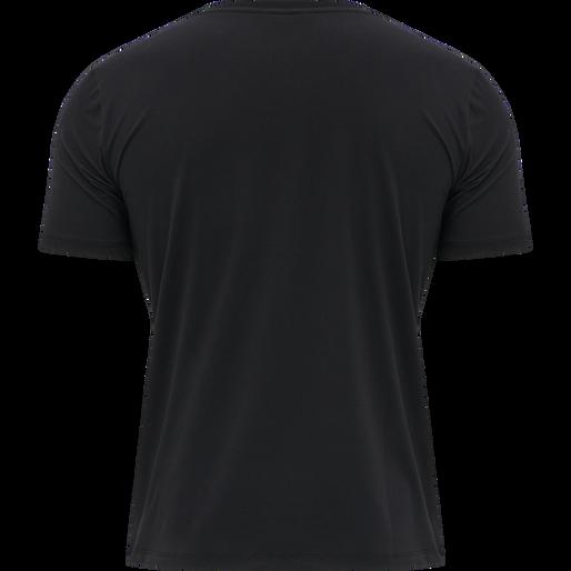 hmlVIRGIL T-SHIRT, BLACK, packshot