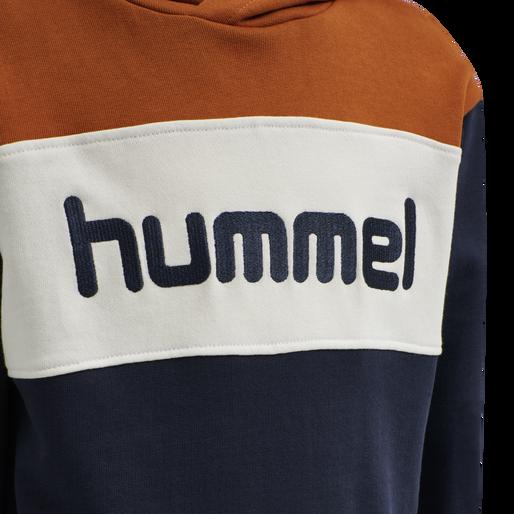 hmlMORTEN HOODIE, BOMBAY BROWN, packshot