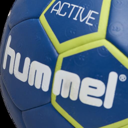 hmlACTIVE HANDBALL, TRUE BLUE/SULPHUR SPRING, packshot