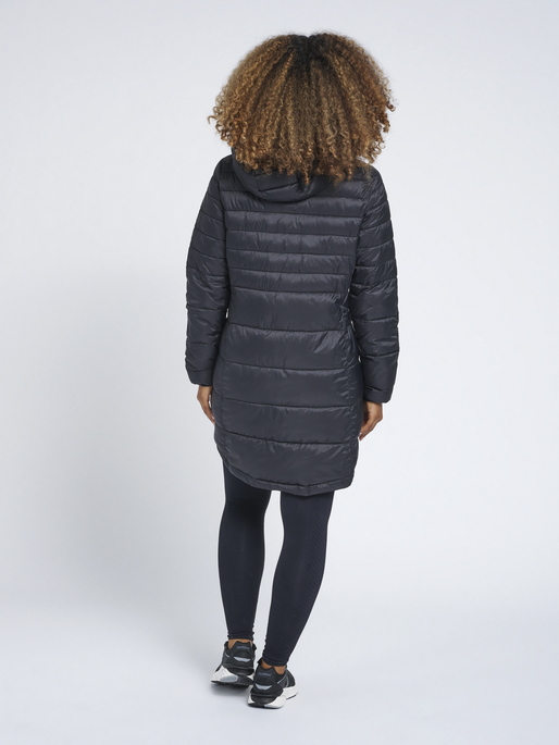 hmlPHILA PUFF COAT, BLACK, model