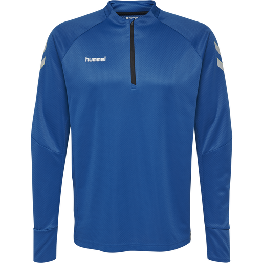 TECH MOVE HALF ZIP SWEATSHIRT, TRUE BLUE, packshot