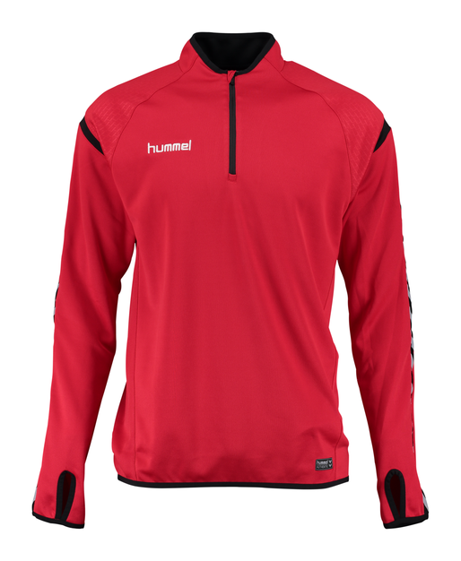 AUTH. CHARGE TRAINING SWEAT, TRUE RED, packshot