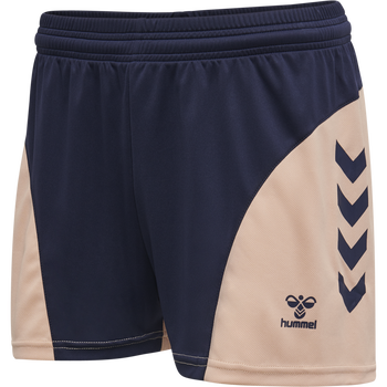 hmlACTION SHORTS WOMAN, MARINE/DUSTY PINK, packshot
