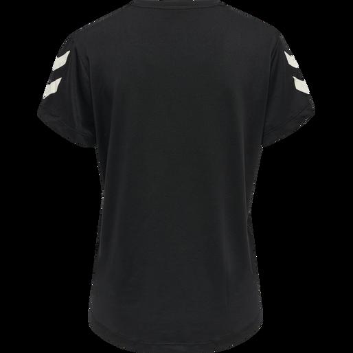 hmlTAYLOR T-SHIRT, BLACK, packshot