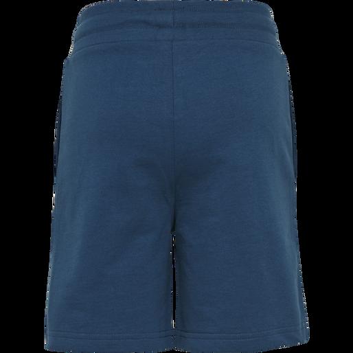 HMLBASSIM SHORTS, MAJOLICA BLUE, packshot
