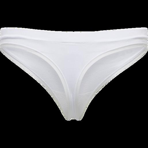 hmlJUNO SEAMLESS THONG, WHITE, packshot