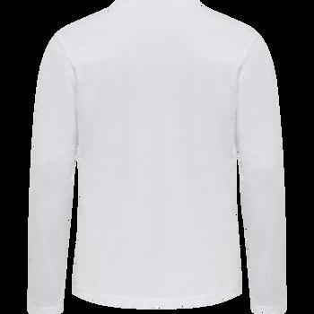 ASTRALIS T-SHIRT L/S, WHITE, packshot