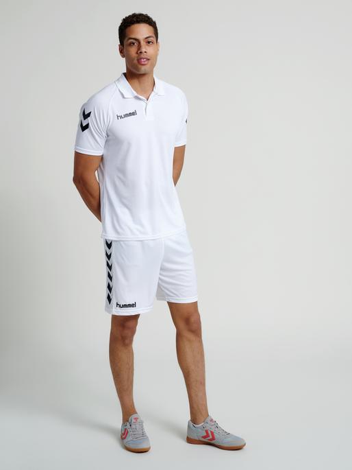CORE FUNCTIONAL POLO, WHITE, model