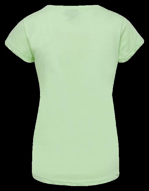 hmlSENGA T-SHIRT S/S, ICE GREEN, packshot