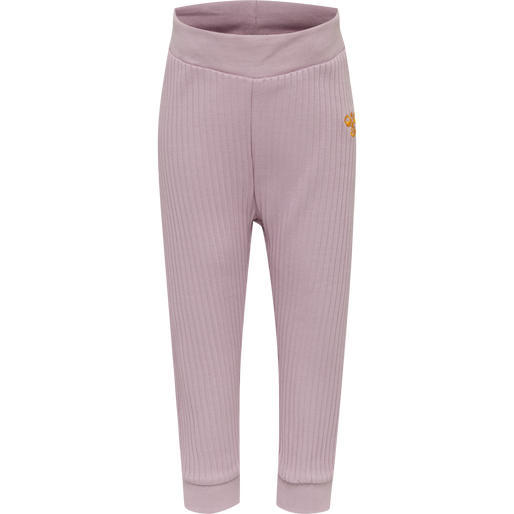 hmlGAEL PANTS, MAUVE SHADOW, packshot