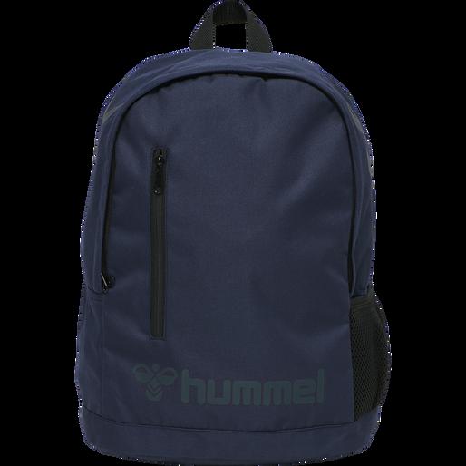 hmlACTION BACK BAG, DARK SAPPHIRE/BLUE CORAL, packshot