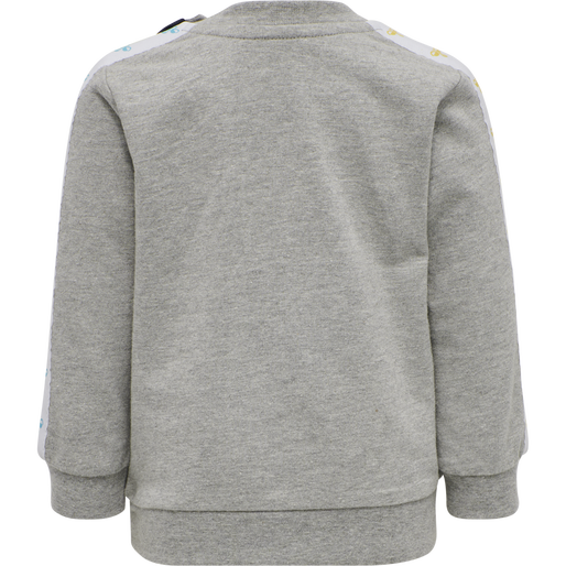 hmlOTTO SWEATSHIRT, GREY MELANGE, packshot