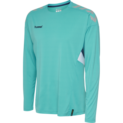 TECH MOVE JERSEY L/S, SCUBA BLUE, packshot