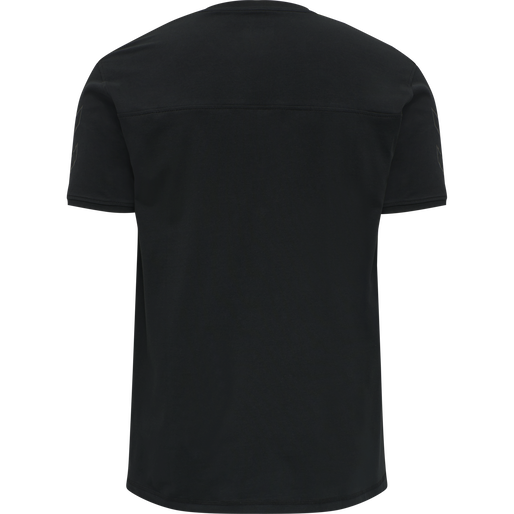 DBU TRAVEL T-SHIRT S/S, BLACK, packshot