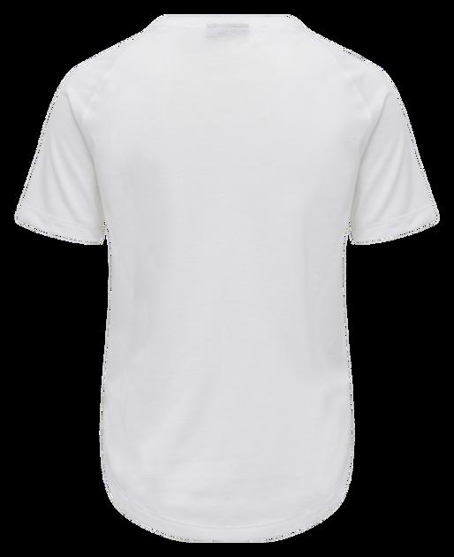 hmlVANJA T-SHIRT S/S, WHITE, packshot