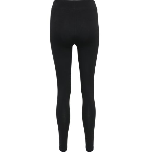 hmlLEGACY WOMAN HIGH WAIST TIGHTS, BLACK, packshot