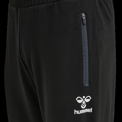 hmlRAY 2.0 TAPERED PANTS, BLACK, packshot