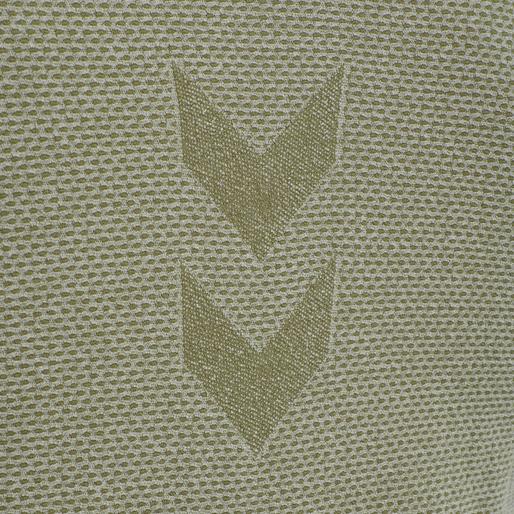 hmlJOE SEAMLESS T-SHIRT, VETIVER MELANGE, packshot