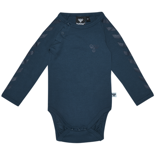 HMLPAUL BODY L/S, BLUE WING TEAL, packshot