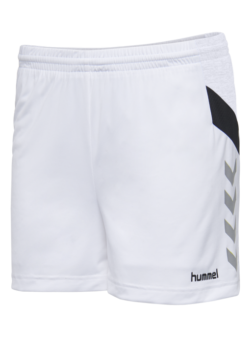 TECH MOVE POLY SHORTS WOMAN, WHITE, packshot
