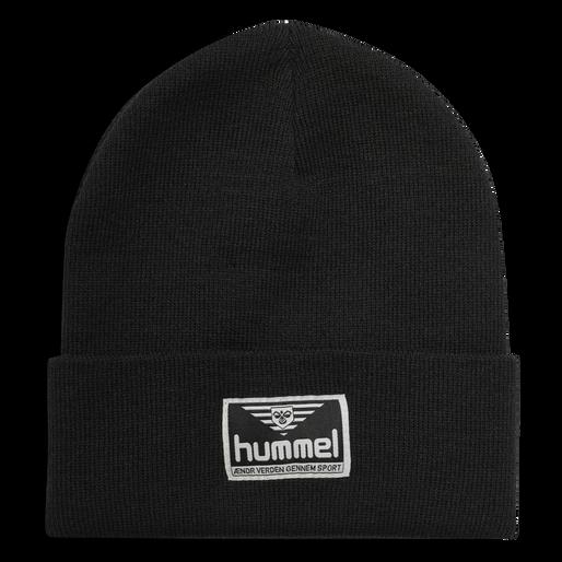 hmlEMIL BEANIE, BLACK, packshot