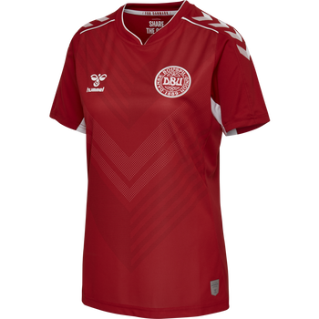 DBU HOME WOMAN JERSEY SS, TANGO RED, packshot