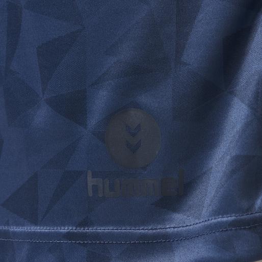 hmlACTIVE POLY JERSEY S/S, ENSIGN BLUE, packshot
