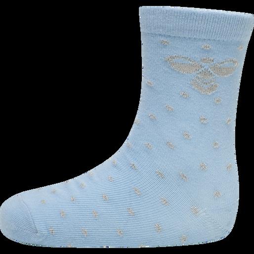 hmlALFIE SOCK 3-PACK, AIRY BLUE, packshot