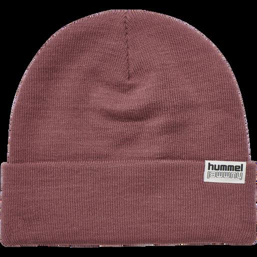 hmlPARK BEANIE, ROAN ROUGE, packshot