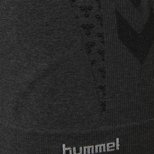 hmlCI SEAMLESS T-SHIRT S/S, BLACK MELANGE, packshot