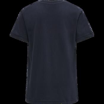 hmlLAN T-SHIRT S/S, BLUE NIGHTS, packshot