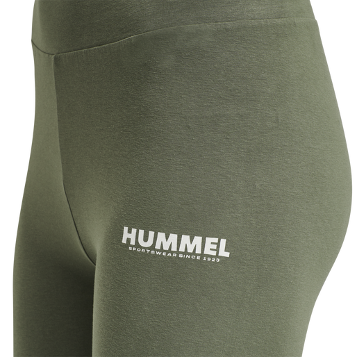 hmlLEGACY WOMAN HIGH WAIST TIGHTS, BEETLE, packshot