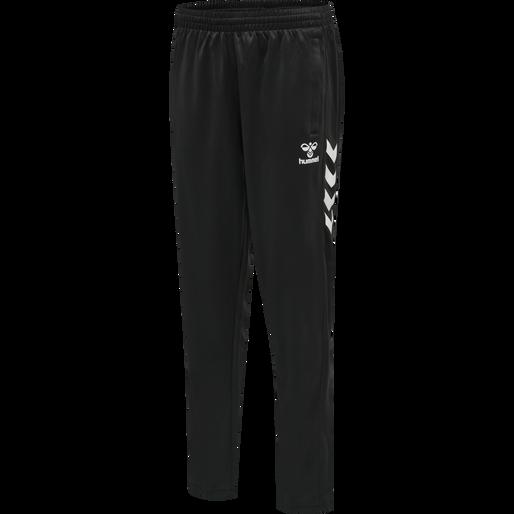 hmlCORE VOLLEY POLY PANTS SHORT, BLACK, packshot