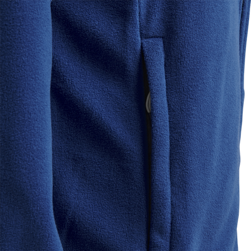 hmlNORTH FULL ZIP FLEECE JACKET WOMAN, TRUE BLUE, packshot
