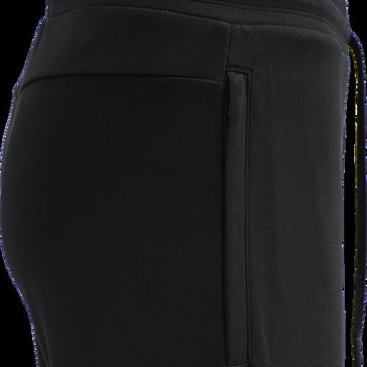 hmlALEC TAPERED PANTS, BLACK, packshot