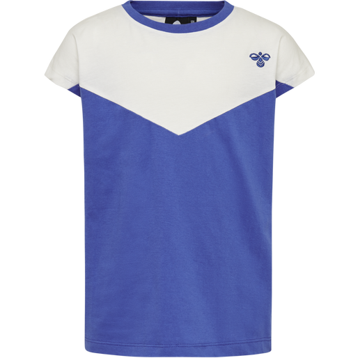 hmlCIETE T-SHIRT S/S, AMPARO BLUE, packshot