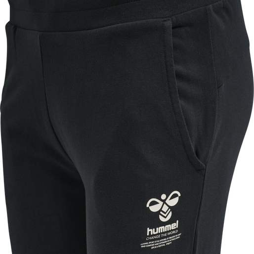 hmlSKYLAR REGULAR PANTS, BLACK, packshot