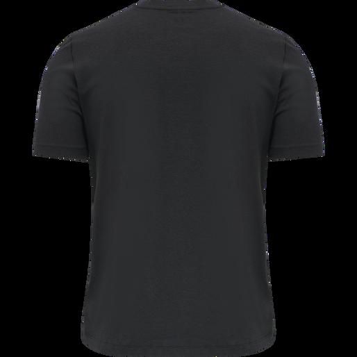 hmlMACE T-SHIRT, BLACK, packshot