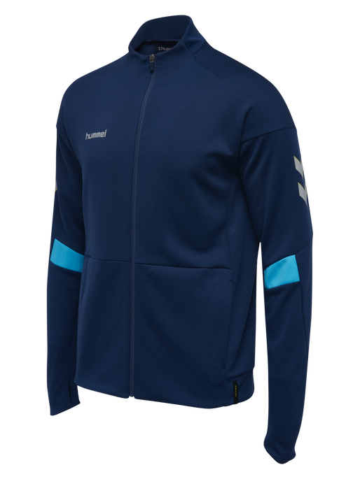 TECH MOVE POLY ZIP JACKET, SARGASSO SEA, packshot