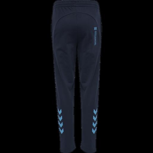 hmlACTION COTTON PANTS KIDS, BLACK IRIS/ATOMIC BLUE, packshot