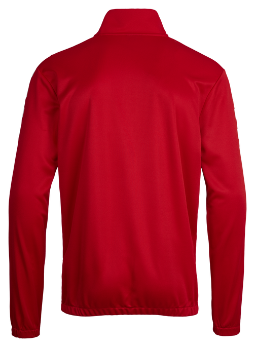 CORE 1/2 ZIP SWEAT, TRUE RED, packshot