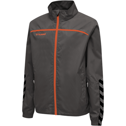 hmlAUTHENTIC TRAINING JACKET, ASPHALT, packshot