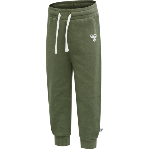 hmlARIN CREWSUIT, DEEP LICHEN GREEN, packshot