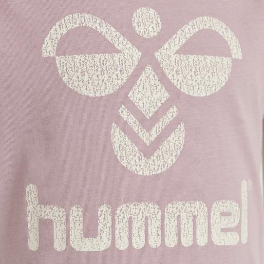 hmlKAMMA T-SHIRT S/S, MAUVE SHADOW, packshot