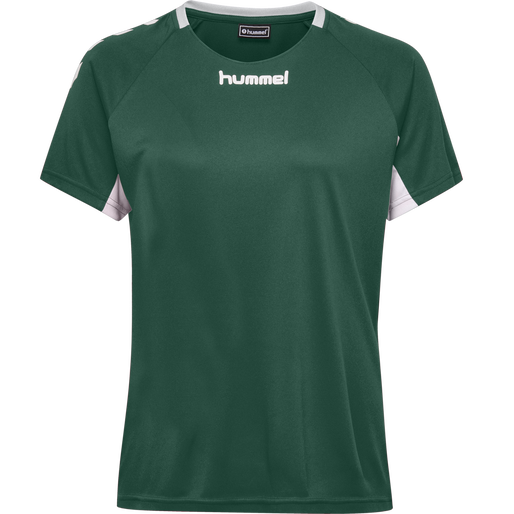 CORE TEAM JERSEY WOMAN S/S, EVERGREEN, packshot
